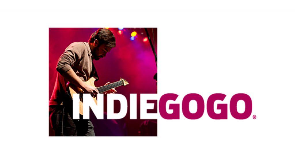 Indiegogo music logo