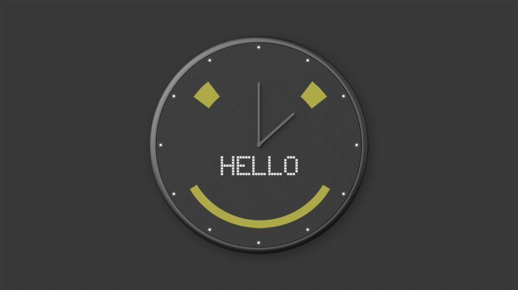 glance clock