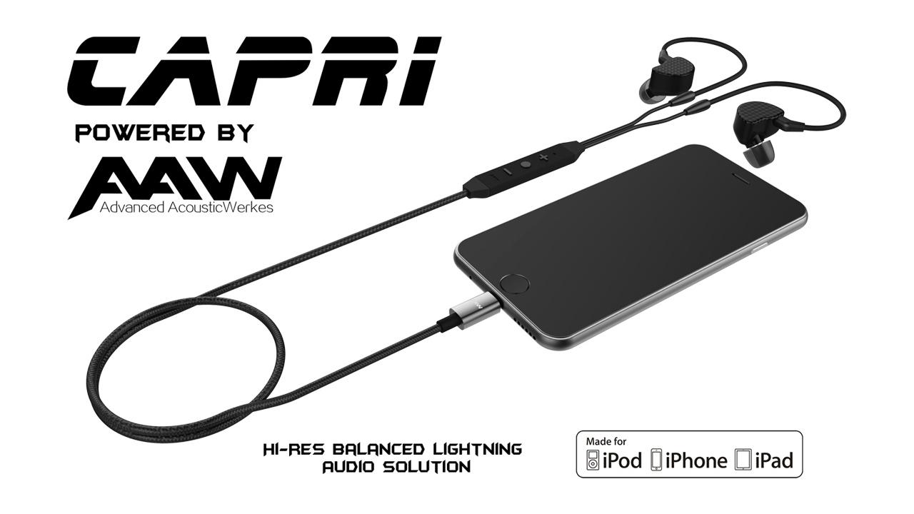 Capri Lightning earbuds