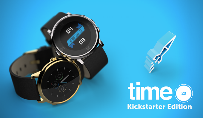 Pebble Time Round Kickstarter Edition