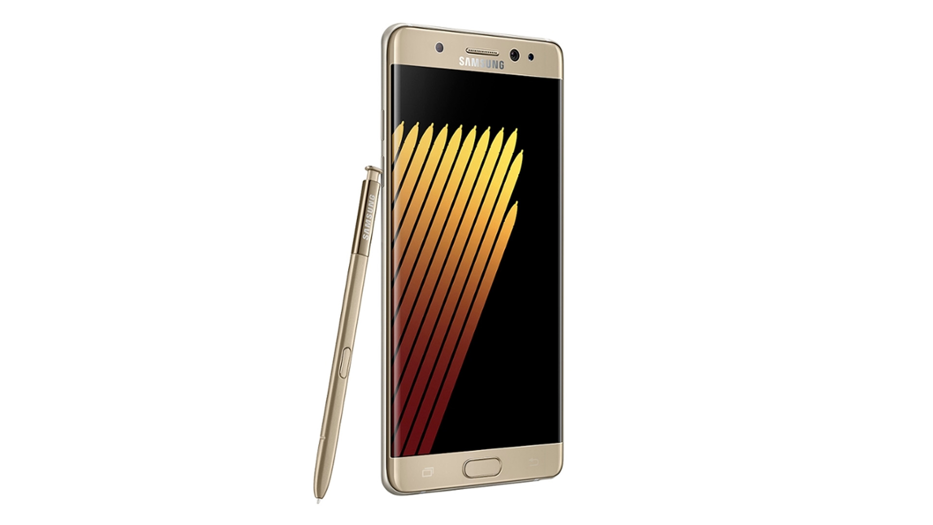 samsung galaxy note 7 smartphone gold