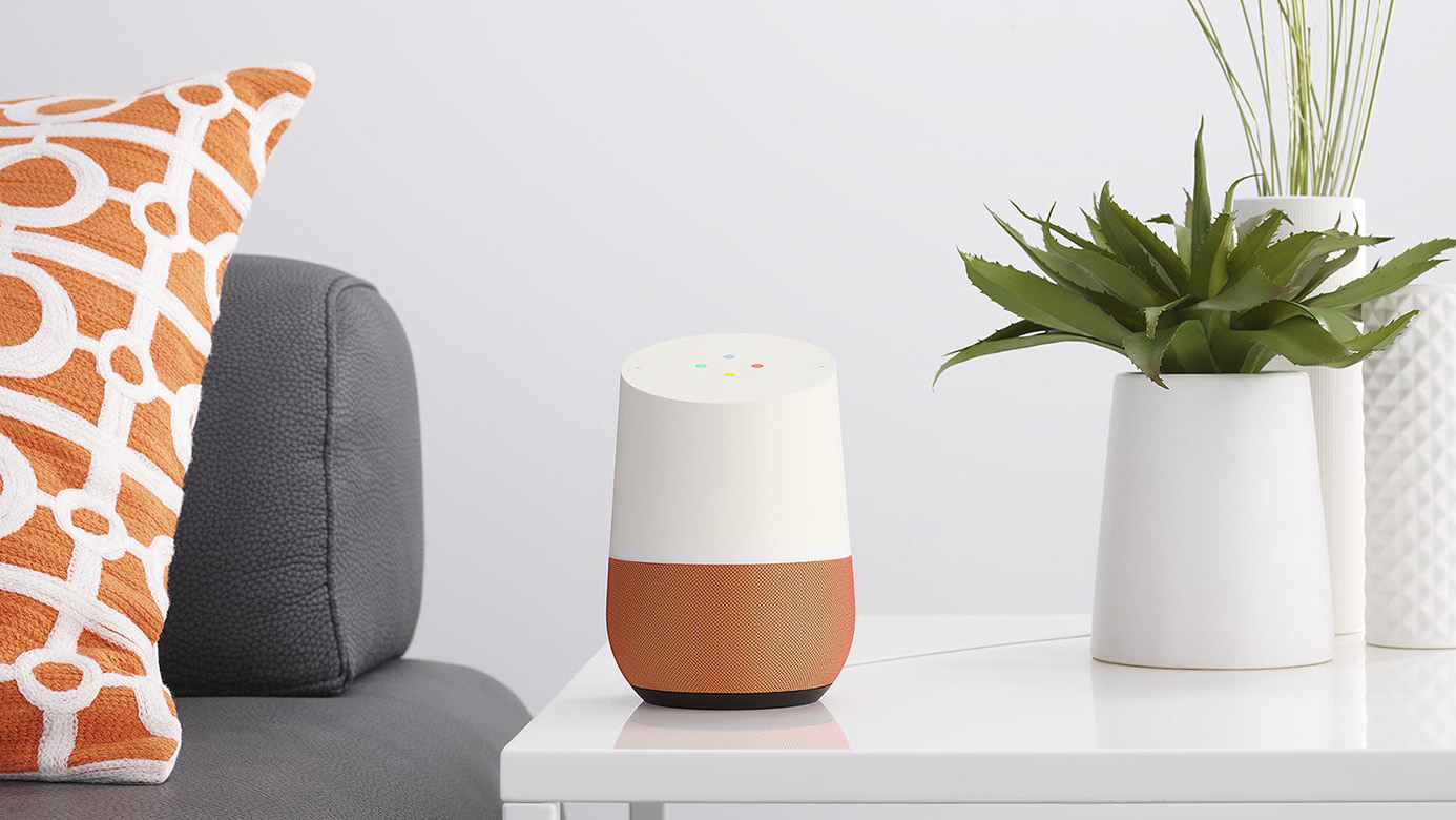 Google Home in the living room
