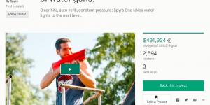 Spyra One Kickstarter Screnshot